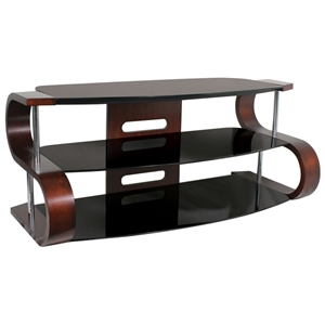 Metro Series TV Stand with Media Shelf