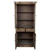 Capulet Tall Display Cabinet - 4 Doors, 2 Drawers, Natural - MOES-AP-1004-24