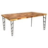 Ezra Rectangular Dining Table - MOES-AX-1009-37