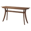 Florence Rectangular Console Table - Walnut - MOES-BC-1006-03