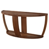 Dylan Console Table - Lower Shelf, Rustic Walnut - MOES-BC-1011-20