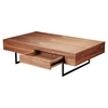 Cameron Coffee Table - 1 Drawer, Walnut - MOES-BE-1017-03