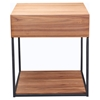 Blake Square Side Table - Walnut - MOES-BE-1018-03