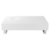 Fairfax 2 Drawers Coffee Table - White - MOES-BE-1021-18