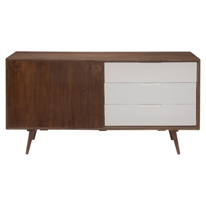 Blossom Sideboard - 3 Drawers, Brown