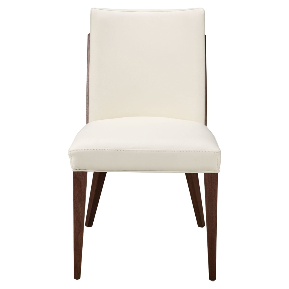 Copenhagen dining chair white set of 2 dcg stores for White chair dining set
