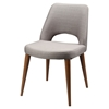 Andre Upholstery Dining Chair - Fabric Seat, Light Brown Legs (Set of 2) - MOES-EH-1087-03