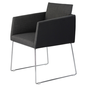 Park Arm Chair - Black