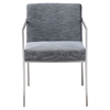 Capo Arm Chair - Gray (Set of 2) - MOES-ER-1093-80
