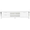 Neo TV Stand - 2 Shelves, 3 Drawers, White - MOES-ER-1117-18