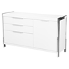 Neo Small Sideboard - 3 Drawers, 1 Door, White - MOES-ER-2004-50