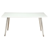 Pampa Dining Table - White Glass - MOES-ER-2007-70