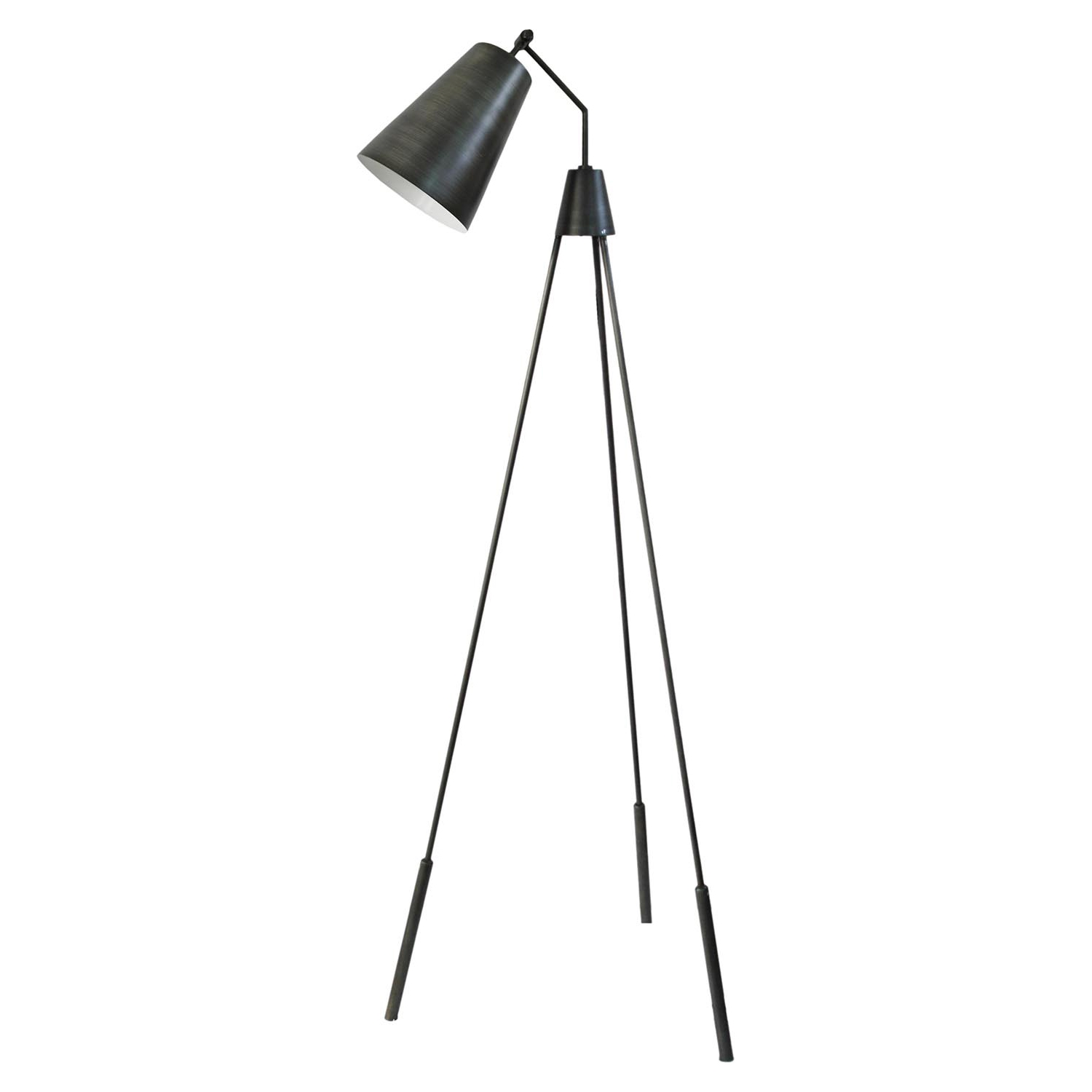 Amato Floor Lamp - Silver - MOES-FD-1000-30