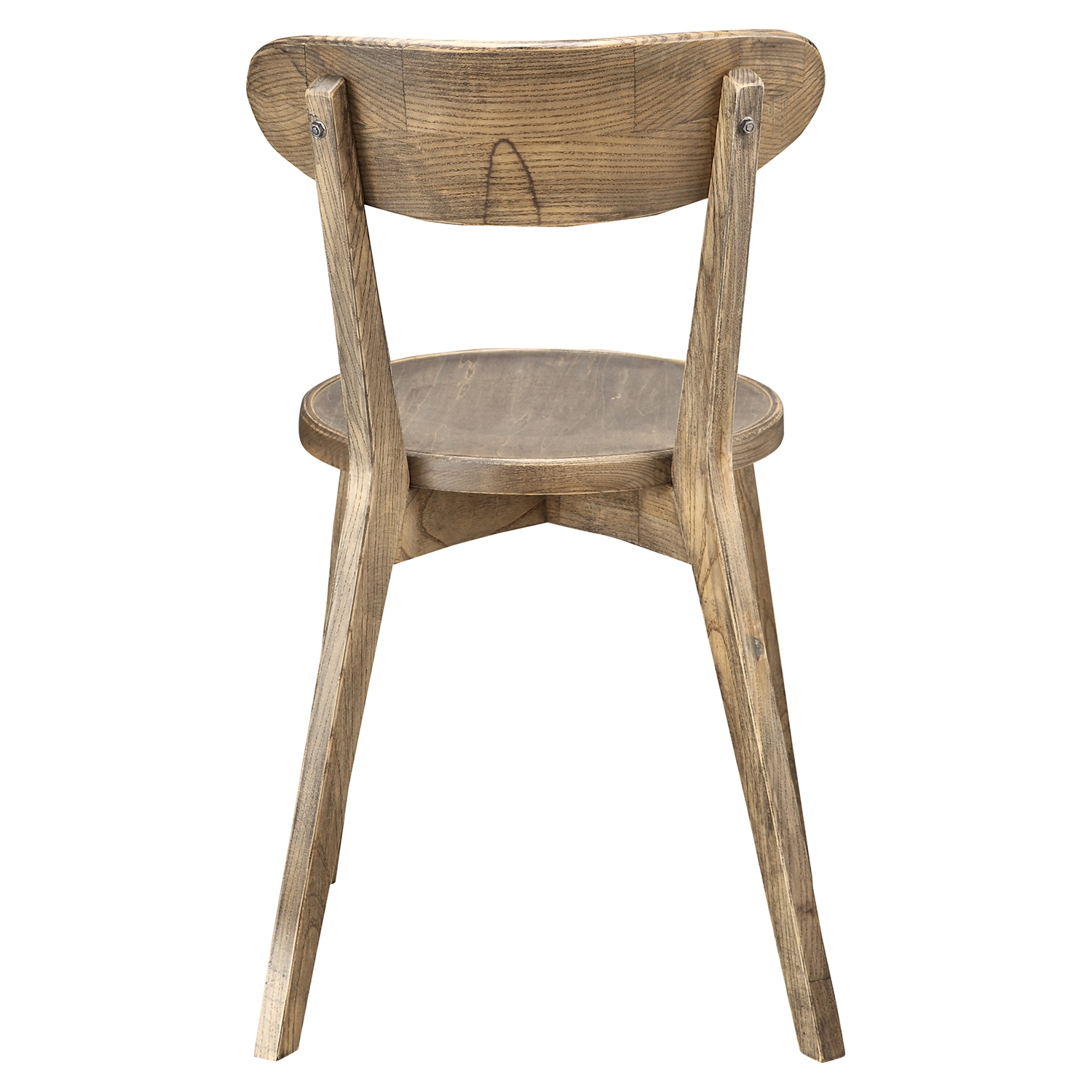 Aldus Wood Dining Chair Brown Set Of 2 Dcg Stores
