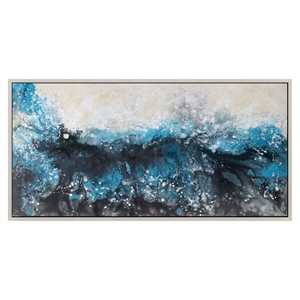 Deluge Wall Decor with Frame