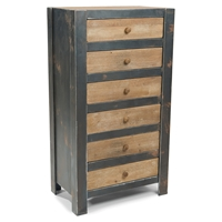 Bolt 6 Drawers Chest - Natural
