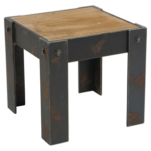 Bolt End Table - Natural