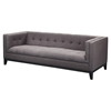 Pancini Sofa - Dark Gray, Tufted - MOES-HV-1012-25