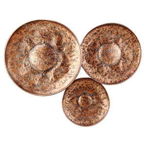 Bronze Disc Large Wall Decor