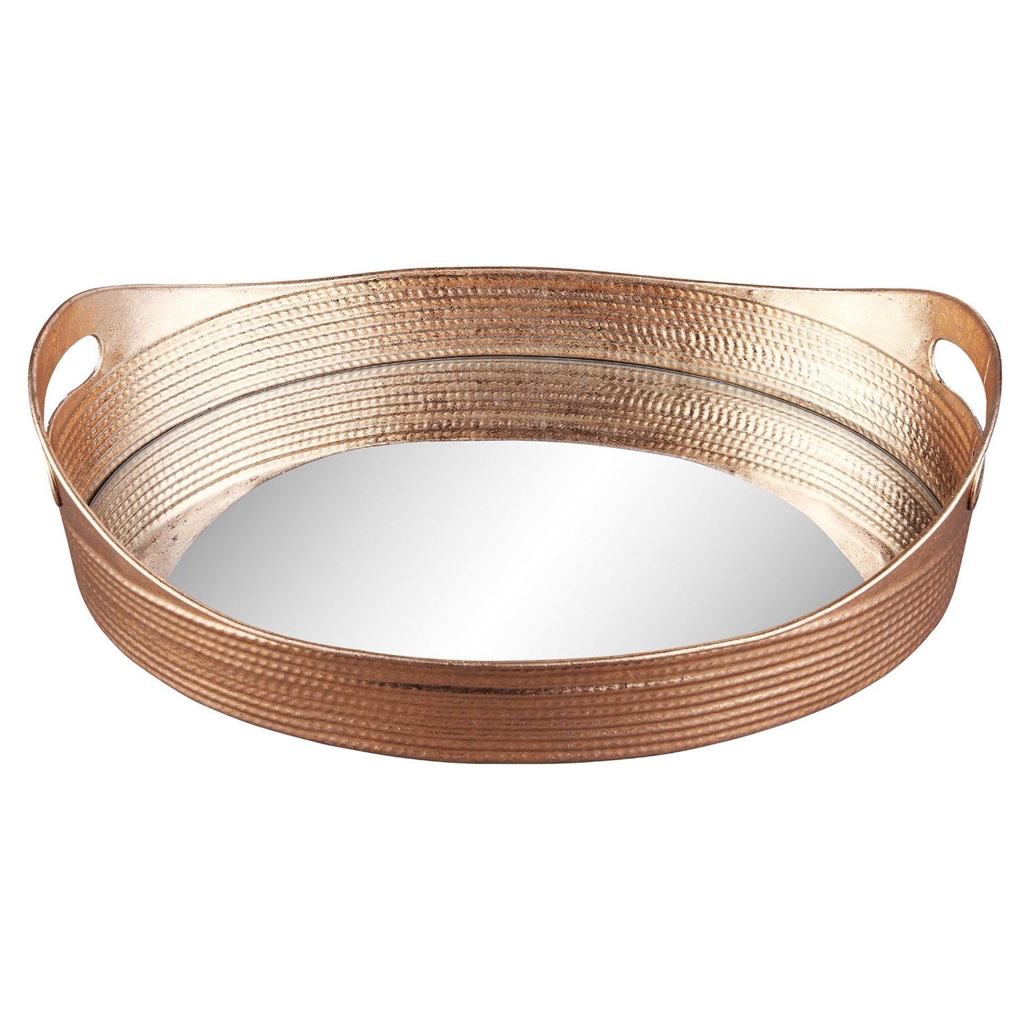 Basket 2 Pieces Tray - Gold - MOES-HW-1052-32