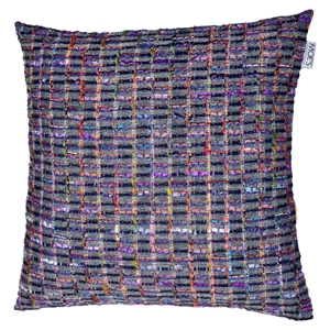 Melange Cushion - Multicolor, Feather Insert