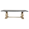 Chateau Dining Table - Dark Gray - MOES-KJ-1009-25