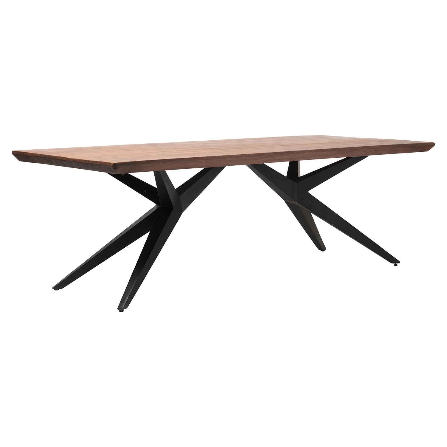 Air Loft Rectangular Dining Table - Brown - MOES-LX-1007-03