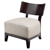 Buca Upholstery Accent Chair - Cream - MOES-ME-1014-05