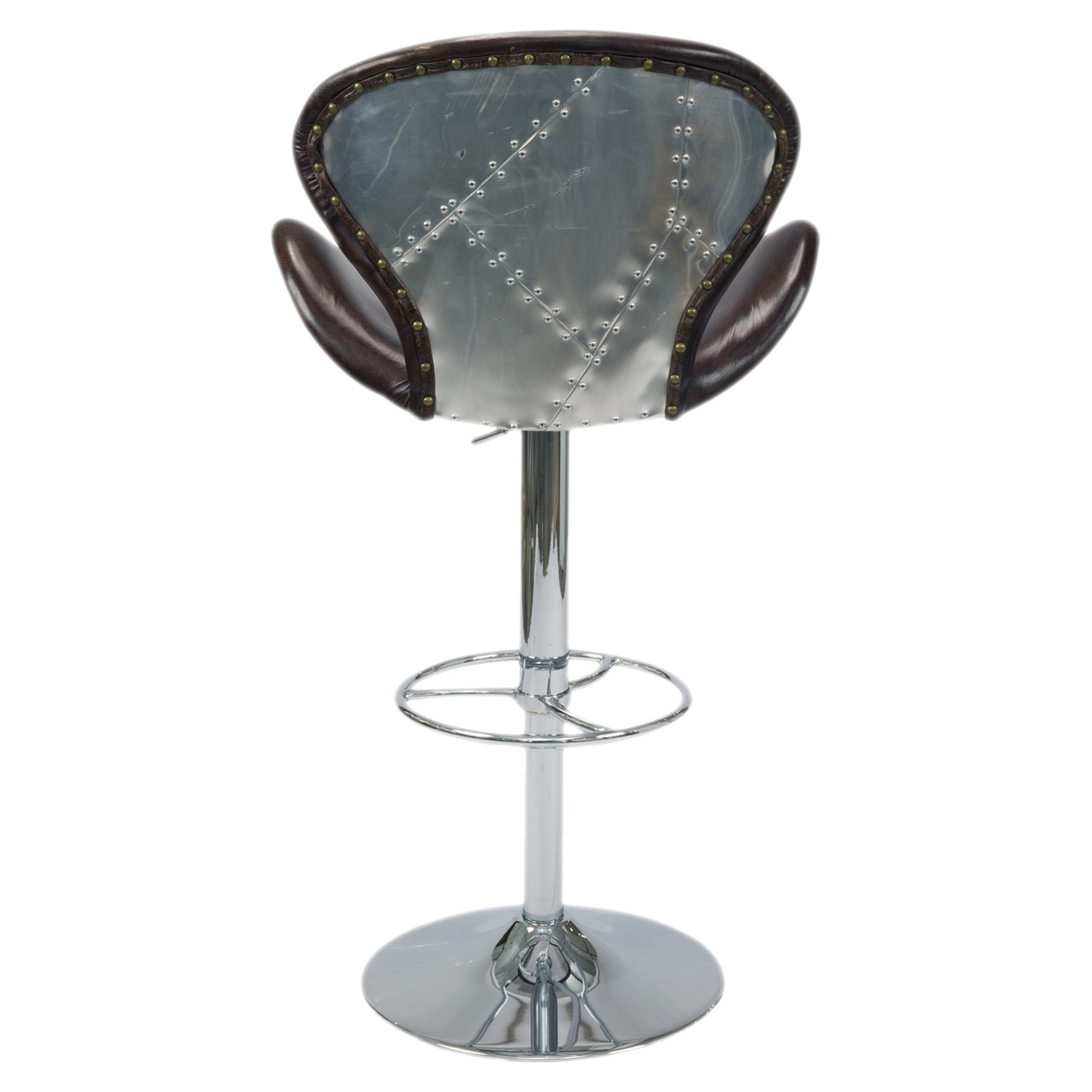 Brighton Swivel Stool - Brown - MOES-PK-1018-20