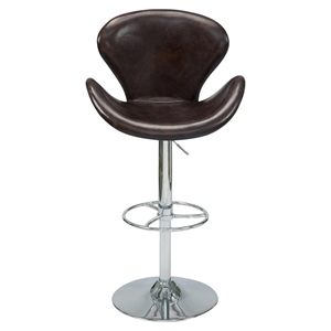 Brighton Swivel Stool - Brown