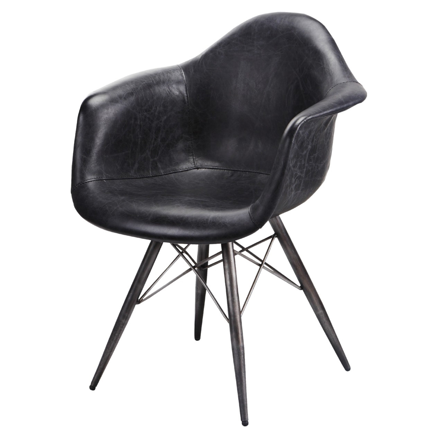 Flynn Club Chair - Black - MOES-PK-1055-02