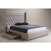 Blair 2 Drawers Bed - Cappuccino - MOES-RN-100-14