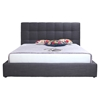Bridget Platform Upholstery Bed - Dark Gray - MOES-RN-100-25-BED