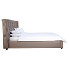 Claudia Platform Bed - Tufted, Gray - MOES-RN-102-45-BED