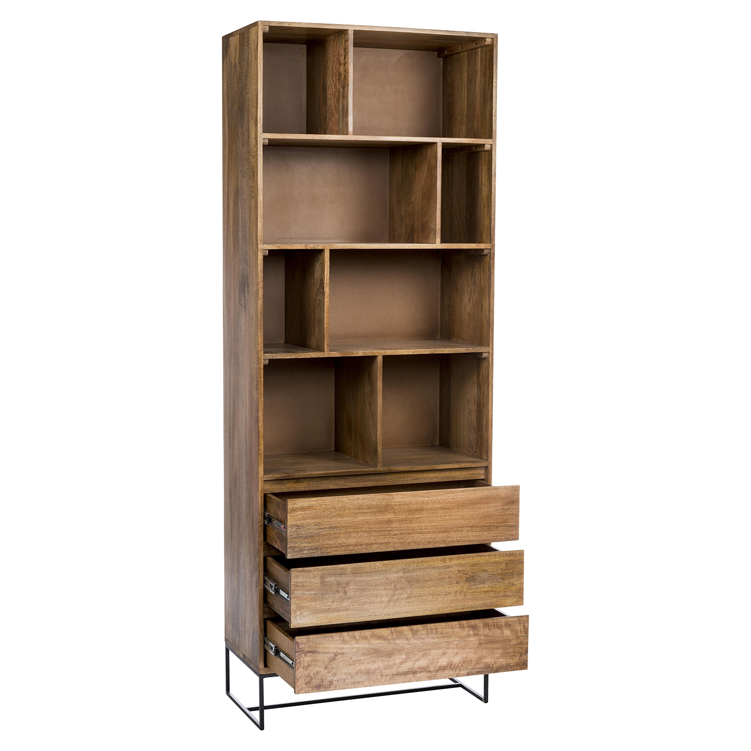 Colvin Shelf with 3 Drawers - MOES-SR-1024-24