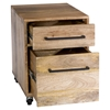 Colvin Mobile 2 Drawers Pedestal - Natural - MOES-SR-1031-24