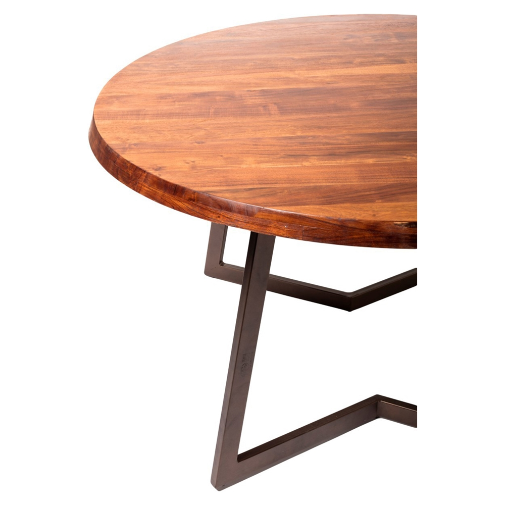 Belem Small Round Dining Table Dcg Stores