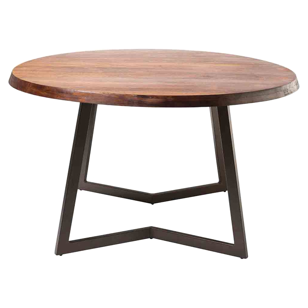 Belem large round dining table dcg stores for Large round dining table