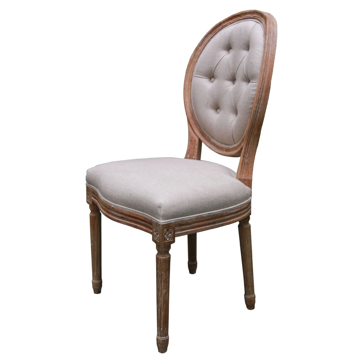 Madeline Side Chair - Tufted, Light Gray (Set of 2) - MOES-SX-1013-29