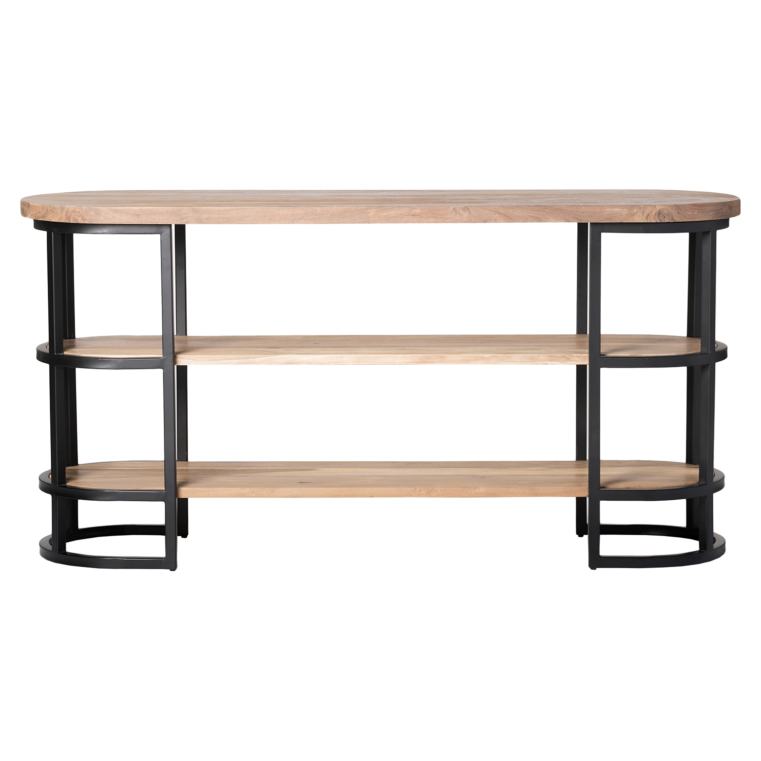 Race Console Table - Light Brown - MOES-VE-1005-21
