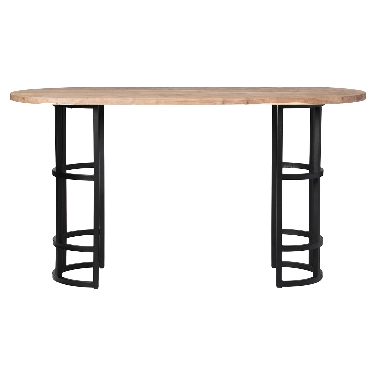 Race Oval Bar Table - Light Brown - MOES-VE-1009-21