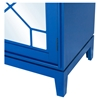 Indochine Low Cabinet - Doors, Blue - MOES-VT-1001-26