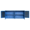 Indochine Long Cabinet - Doors, Blue - MOES-VT-1003-26