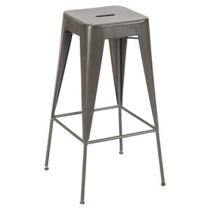 Brooklyn Backless Bar Stool - Dark Brown (Set of 2)