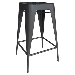 Brooklyn Backless Counter Stool - Black (Set of 2)