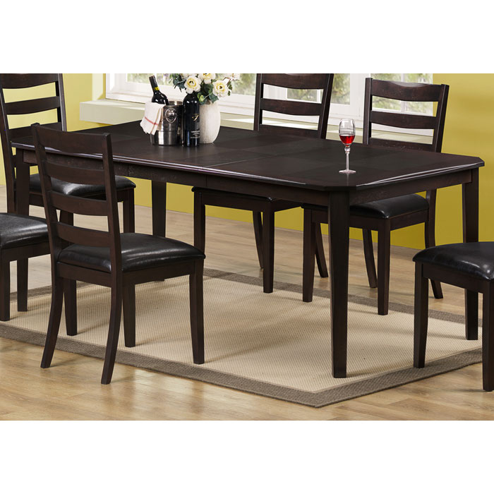 Diligence Extending Dining Table - Two Tone Top - MNRH-I-1689