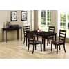 Diligence Contemporary Dining Table - Cappuccino - MNRH-I-1691