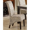 Spontaneity Rollback Side Chair - Swirls, Tan Fabric (Set of 2) - MNRH-I-1789TN