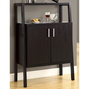 Dulcet Bar Storage Unit - Wine Rack & Stemware Holder