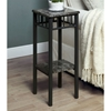 Illusion Plant Stand - Lower Shelf, Charcoal Finish - MNRH-I-3064